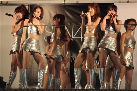 SDN48、お色気たっぷりに新曲をPR 「新曲の衣装はAKBには着られな...  新曲「MIN・