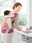赤ちゃん「セオッテ」も家事楽ちん 軽量コンパクトな抱っこひも発売 画像1