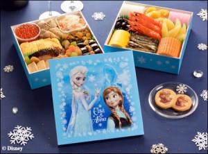 画像:『アナと雪の女王』がおせちで登場 オラフのぬいぐるみが当たるキャンペーン実施中
