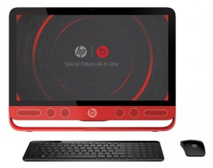 画像:日本HPが音質を強化したPCと特別仕様タブレット発売 レッドカラーでBeatsAudioに対応