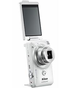 셀카 기능 강화한 컴팩트 디지탈 카메라 발리 앵글 액정 모니터 카메라 스탠드 탑재 화상 1