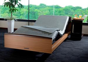 画像:機能性とデザイン性を兼ね備え、価格を抑えたリクライニング付き電動ベッドを発売