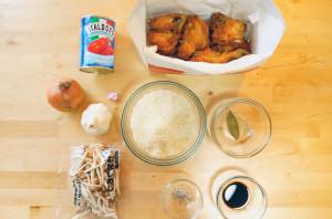 KFCオリジナルチキンでご飯が進む!! 「炊き込みご飯」と「ハニーマスタード炒め」 作ってみたてきな研究 画像1