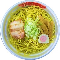 北海道産の小麦とそば粉を使用  チンして簡単、ローソン「レンジ麺」 画像1