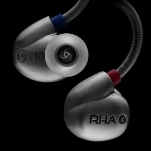 画像:英RHAのインナーイヤー・ヘッドフォン「T10i」 3種の音質フィルター付属