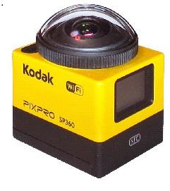 画像:ぐるり撮影可能な全方位カメラ 360°全シーンを見逃さない