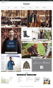 画像:フランス発のプレミアムカジュアルブランド「AIGLE」公式サイトが10/23(木)リニューアルオープン