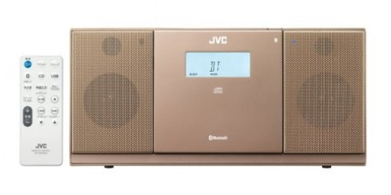 좋아하는 곳에서 언제나 음악을 JVC가 소형 오디오 시스템