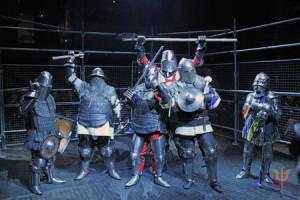 画像:中世甲冑騎士たちによるスポーツバトル「STEEL!~バーチャル・コロシアム!」開催!