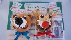 """画像:クリスマス当日でも OK!超簡単で可愛い""""ドーナツリー"""" あわてんぼうの""""ママサンタ""""にもぴったり♪"""