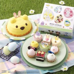 イースターのかわいいケーキ登場~  コージーコーナーがディズニーキャラクターで 画像1