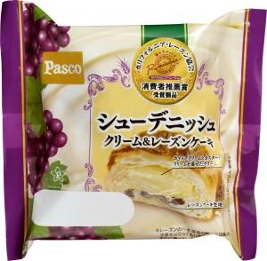 画像:忙しい女性を応援! Pascoが「シューデニッシュ クリーム&レーズンケーキ」を発売