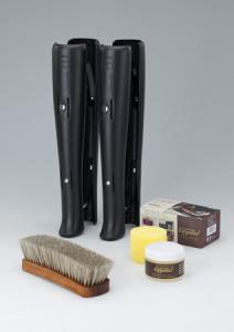 秋冬の革製品のお手入れに『ブーツキーパーロング』『レザークリスタル100』『ジャーマンブラシ1』 画像1