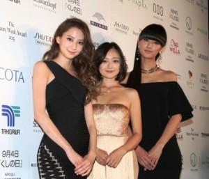 (左から)河北麻友子、安達祐実、シシド・カフカ