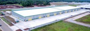 「ダイワ・マヌンガル工業団地」内のレンタル工場