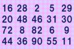 1分で解けたらIQ135以上!並んだ数字を2つに分けるクイズ 画像1