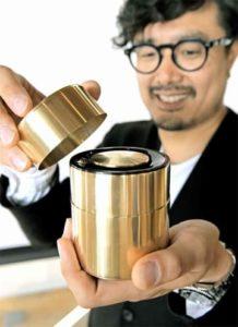 茶筒製造老舗とコラボ、茶筒型スピーカー限定販売 パナソニック 画像1
