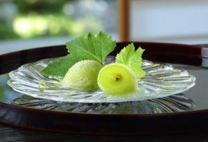 画像:果実を丸ごと使った爽やかな夏の和菓子 宗家 源 吉兆庵から期間限定発売