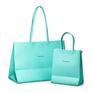 画像:ティファニーのショッピングバッグがレザーバッグに!? 色はもちろんあのブルー