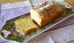 画像:クルミのカリカリバナナケーキ 混ぜて焼くだけの簡単レシピ【おうちdeおやつ】