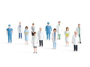 画像:医療現場は3月に比べると改善? 現場の医師にアンケートを実施